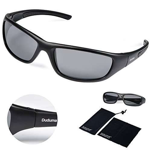 597bbb8151 Duduma Polarized Sports Sunglasses for Men Women Baseball Running Cycling  Fishing Driving Golf Softball Hiking Sun Glasses Tr8116